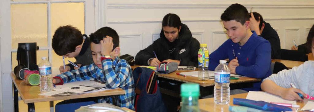 enfants précoces à l'école Ipécom Paris