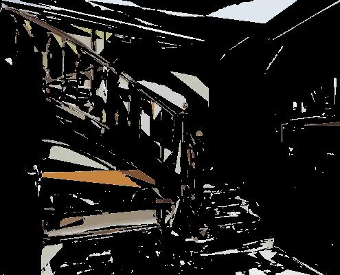 escalier intérieur ipécom paris