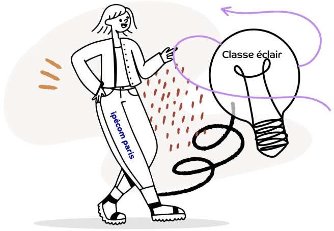 classe éclair, collège pour EIP d'Ipécom Paris