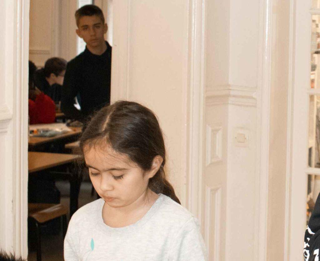 élèves collège haut potentiel Ipécom Paris