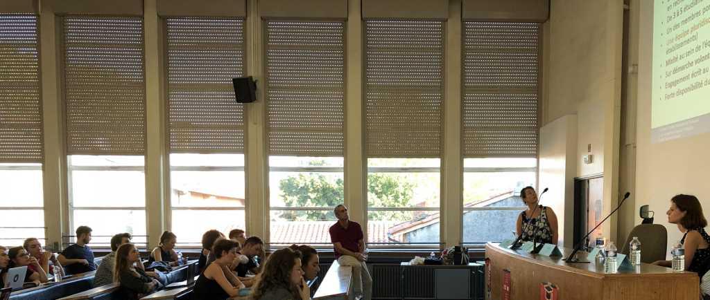 amphithéâtre Sciences Po - IEP Toulouse