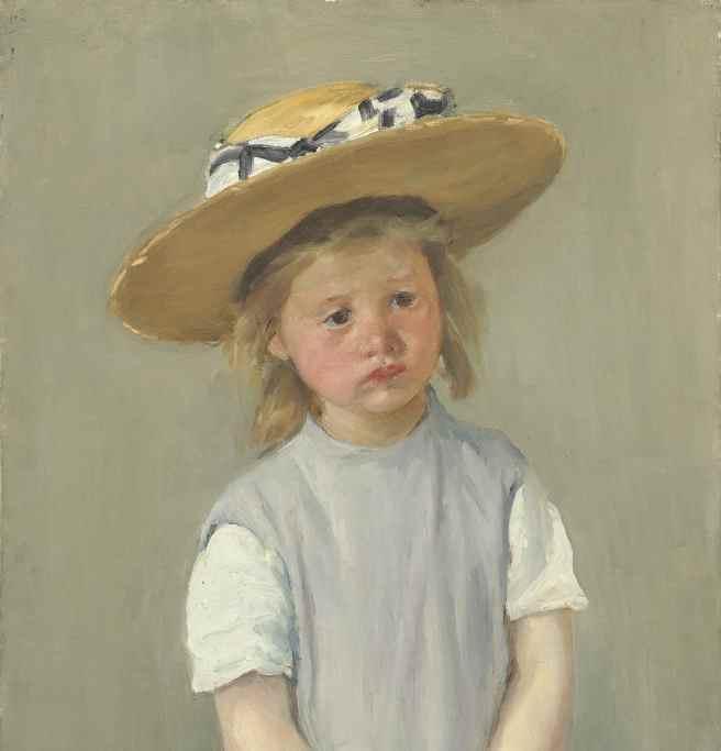 enfant précoce, élève à haut potentiel Child_in_a_Straw_Hat_by_Mary_Cassatt