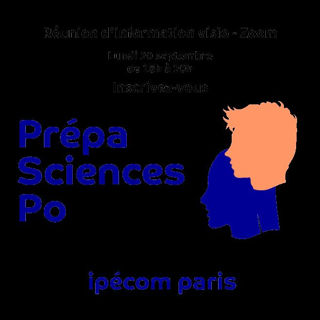 réunion d'information sciences po ipécom paris le 20 septembre de 18h à 20 h